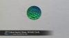 ".55"" Custom Imprint, Green, M-Valid, Circle"
