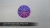 ".95"" Custom Imprint, Purple, Sweep, Circle"