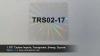 "1.95"" Custom Imprint, Transparent, Sweep, Square"