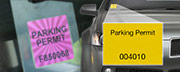 Parking Permits, Parking Stickers, and Mirror Hang Tags
