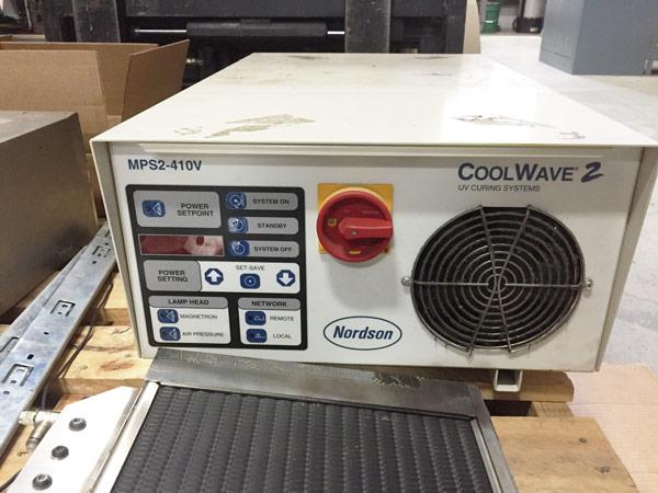 Nordson Coolwave Novavision Industrial Equipment For Sale