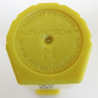 NovaVision Brand Bolt Seal for Cargo Containers and Truck Trailers 50 Pack Yellow