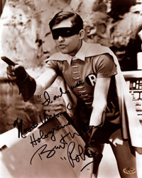 Burt Ward Signed Photo