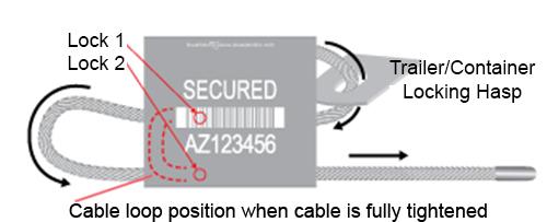 100//Case 1//16 x 12 Black Cable Seals