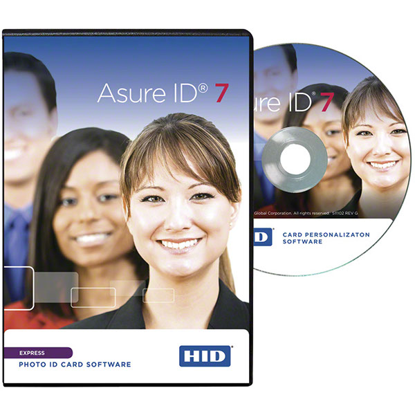 Asure ID express card printing software