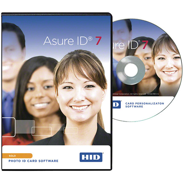 Asure ID solo card printing software