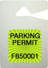 Hang Tags Parking Permits