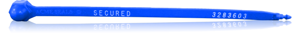Plastic Band Seal, Blue