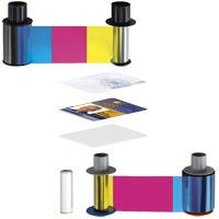 Ribbons, Supplies for PVC card printers
