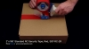 """2"""" Wide, Full Adhesive Transfer Security Tape, Red, EFT2R-136"""